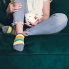 STRIPES - kolorowe stopki