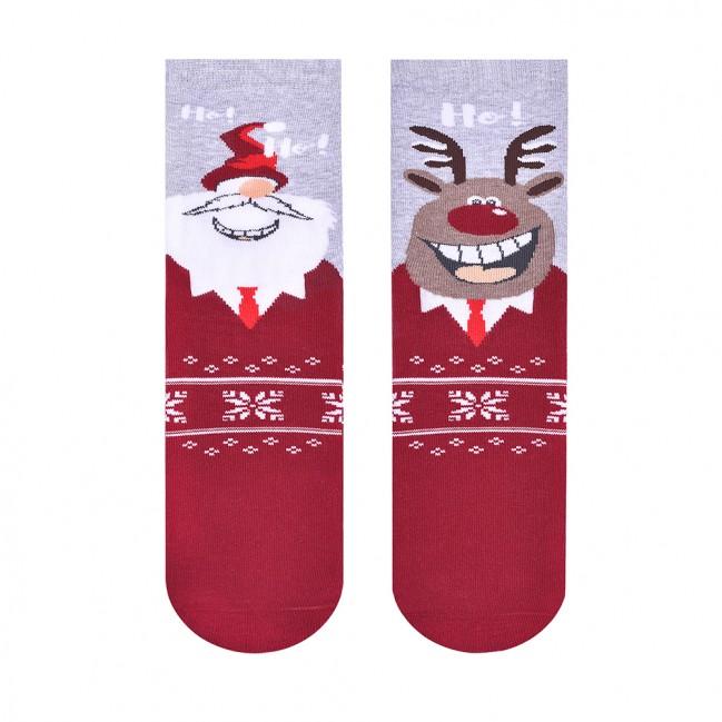 CHRISTMAS COUPLE - kolorowe skarpetki
