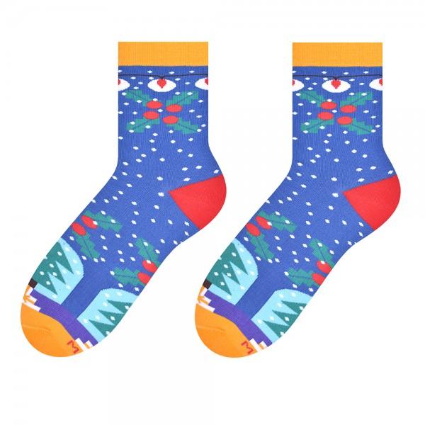 CHRISTMAS TIME- kolorowe skarpetki