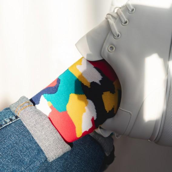 SOCIETY - kolorowe skarpety męskie