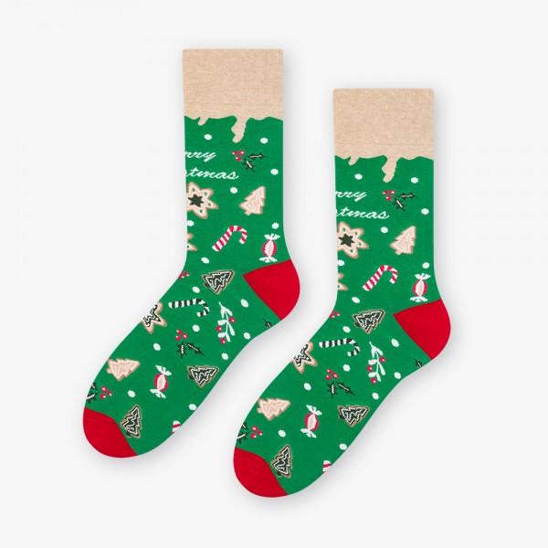 SWEET CHRISTMAS - kolorowe skarpetki