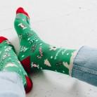 SWEET CHRISTMAS - męskie kolorowe skarpetki