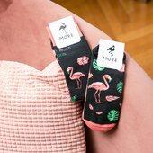 Zakładasz skarpetki z flamingami i od razu wiesz, że to MORE 🙌🏻 . . . . #moresocks #more #skarpetki #koloroweskarpetki #stopki #anklesocks #shortsocks #niedopary #mismatchedsocks #mismatched #pink #różowy #flamingi #flamingos #more #wakacje