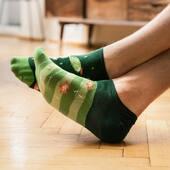 #plantlovers jesteście tutaj? 🌵 . . . . #moresocks #more #socks #shortsocks #footers #mismatchedsocks #mismatched #niedopary #kaktus #cactus #chłopak #man #skarpetki #dlaniego