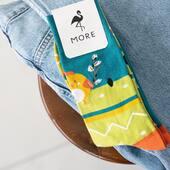 Jedyny słuszny skarpetkowy wybór! 🐤 . . . . #easter #easteriscoming #zajączek #wielkanoc #wielkanocneinspiracje #moresocks #skarpetkimore #socks #chicken #dlaniej #dlaniego #jeans